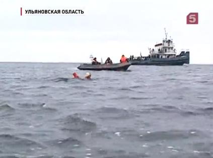 В Ульяновске состоялся марафонский заплыв через Волгу