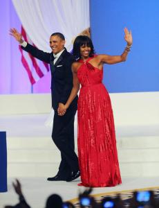 Мишель Обама на инаугурации