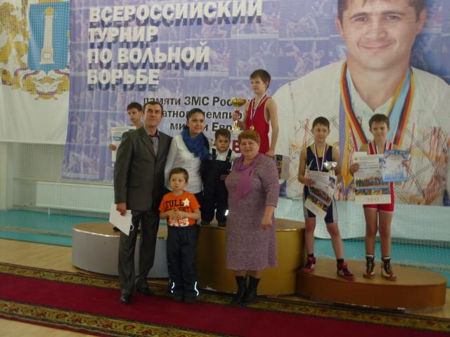 Турнир по вольной борьбе, посвященный памяти Шамиля Садриева