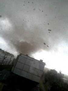 Смерч в Тульской области 22 мая 2013: видео
