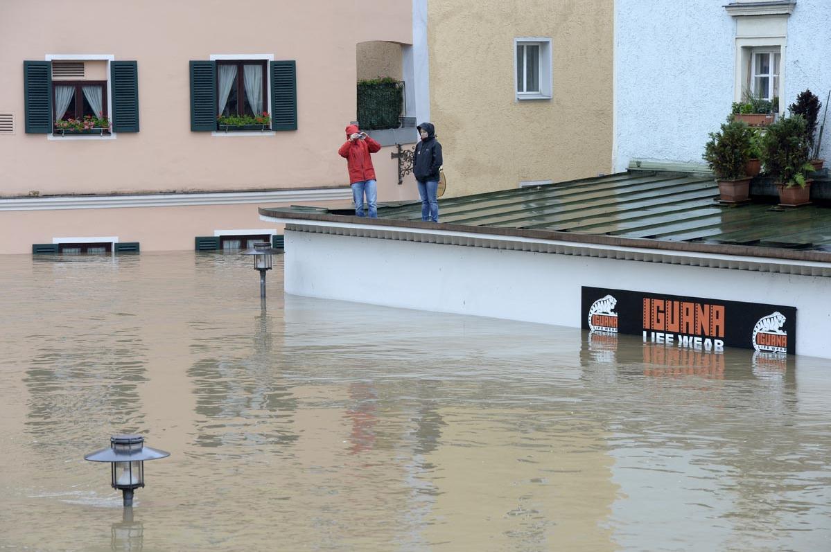 Наводнение в Европе: июнь 2013
