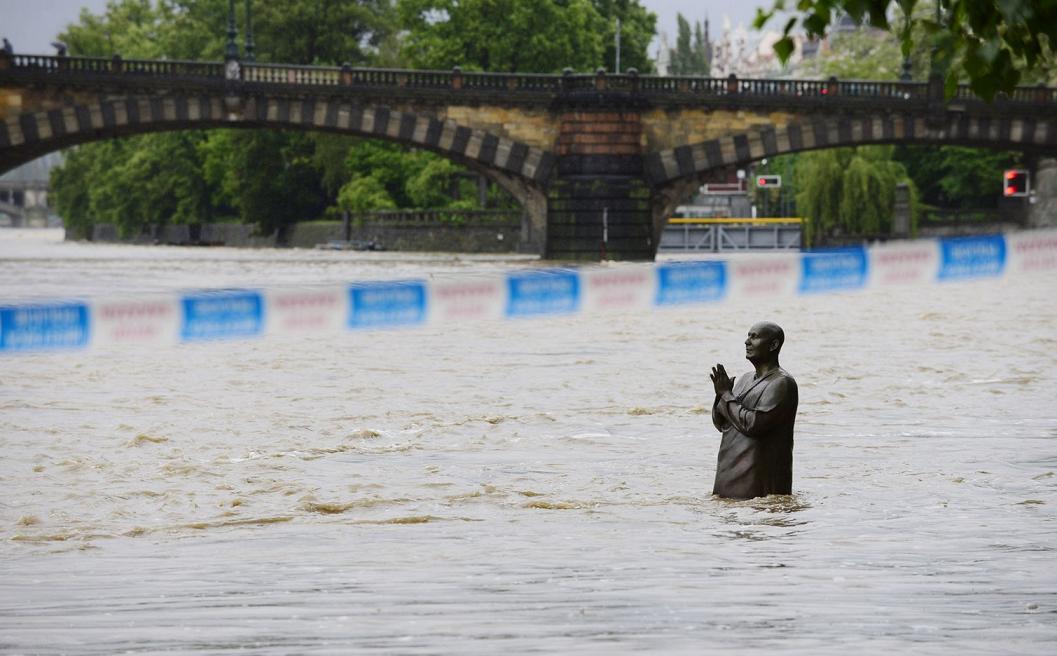 Чехия: наводнение 2013