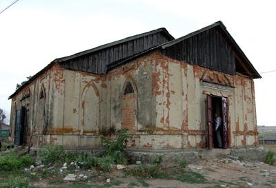 В селе Кротково Сенгилеевского района восстанавливается храм Святителя Чудотворца Николая