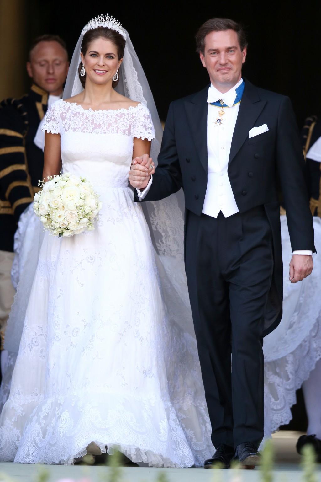 Свадьба шведской принцессы Мадлен