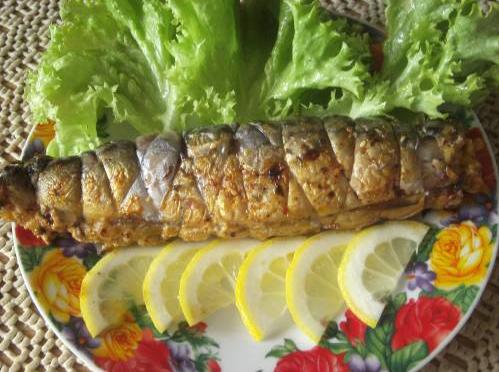 Рецепт приготовления скумбрии на мангале