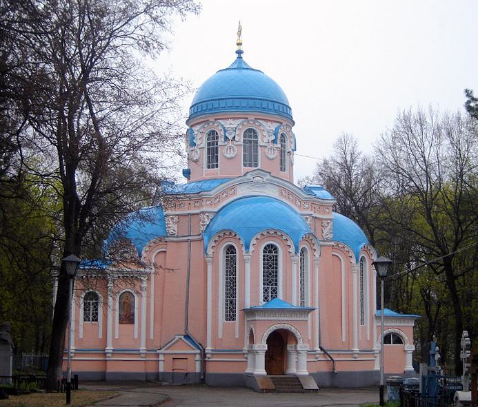 Проводится ремонт Воскресенского храма, г. Ульяновск