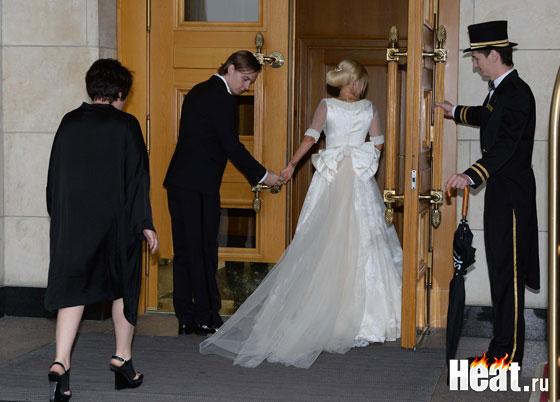 Лера кудрявцева в свадебном платье фото