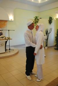 В Шемурше районе состоялась свадьба в народных традициях