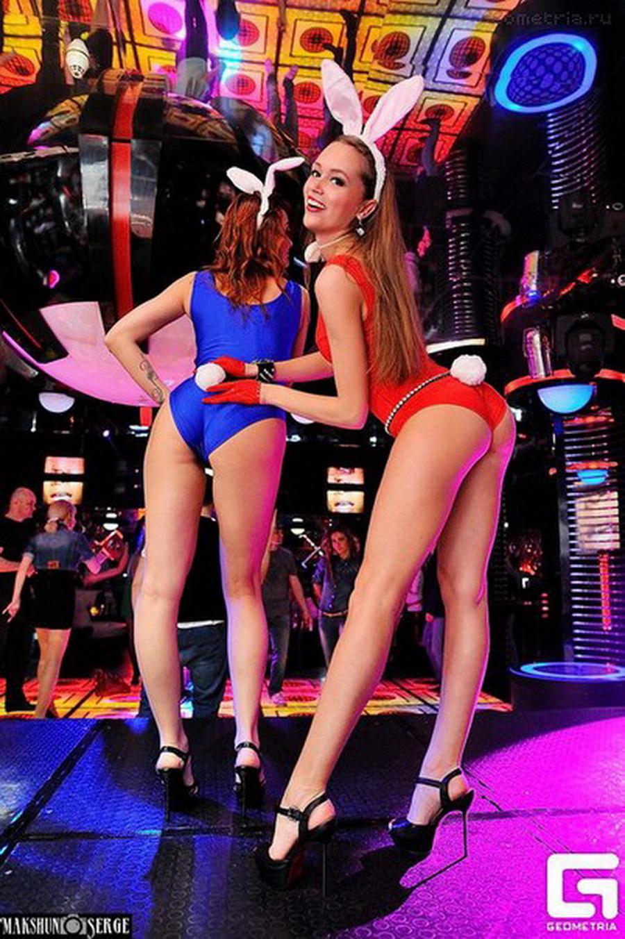 «Вторая вице-мисс» Наталья Башура танцует go-go в клубе «Next»