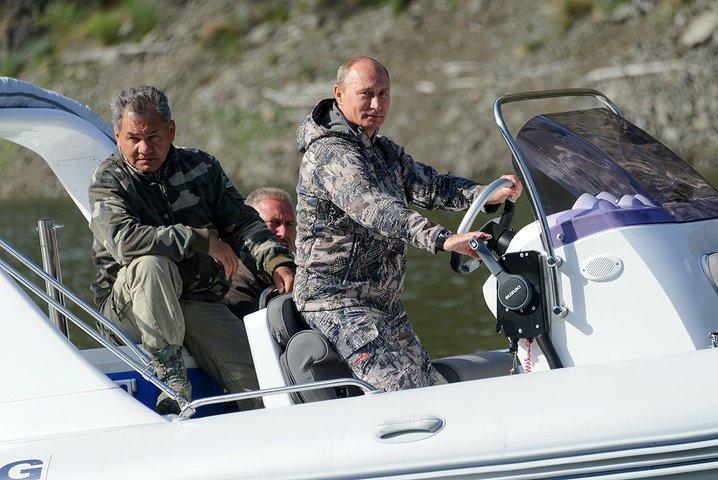 Президент Путин на выходных в Туве и Красноярском крае