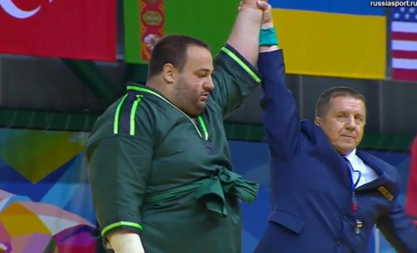 Сергей Павлик завоевал золото в куреше на Универсиаде в Казани