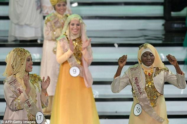 """Титул """"Мисс мусульманского мира"""" выиграла жительница Нигерии"""