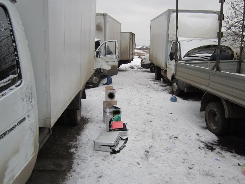 В Ульяновской области обнаружено 9 автомобилей ГАЗель, украденных в Москве и Московской области